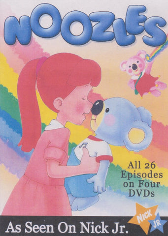 NOOZLES COMPLETE 26 EPISODES 4 DVD SET EXTREMELY RARE CARTOON 1984-87