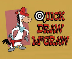 QUICK DRAW MCGRAW KIDS CARTOON DVD SET COMPLETE 45 EPISODES 1959