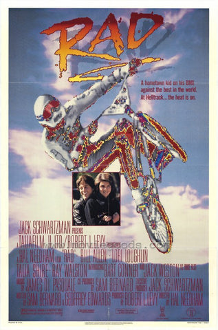TV RAD (1986) BMX Racing Movie - Special Edition  DVD  VERY RARE REMASTERED 720P