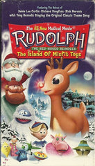 XMAS RUDOLPH THE RED NOSE REINDEER 2 - THE ISLAND OF THE MISFIT TOYS VERY RARE 2001 RANKIN BASS XMAS CARTOON