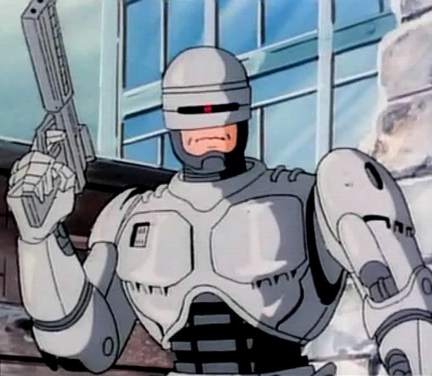 Image result for robocop the animated series dvd