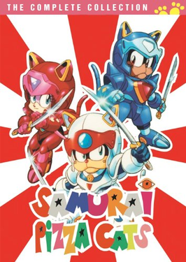 SAMURAI PIZZA CATS COMPLETE 52 EPISODES DVD SET 1990-91 EXTREMELY RARE JAPANESE ANIME
