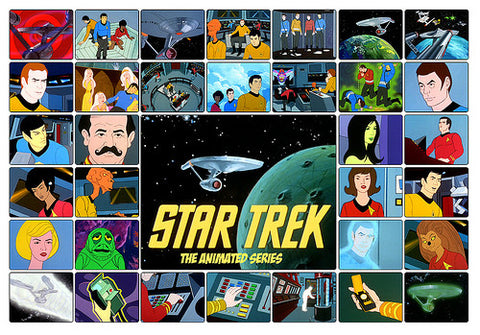 STAR TREK ANIMATED SERIES COMPLETE 2 DVD SET 1973-1975