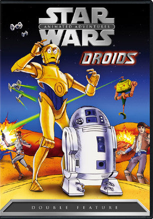 STAR WARS DROIDS COMPLETE CLASSIC CARTOON 2 DVD SET 1985-86