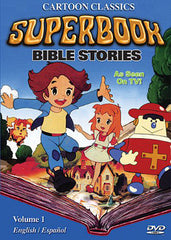 SUPERBOOK BIBLE STORIES COMPLETE DVD SET 1981 ORIGINAL CARTOON EXTREMELY RARE