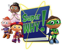Super Why! Kids Reading Cartoon PBS Complete 80 Episodes 9 DVD Set 2007-12