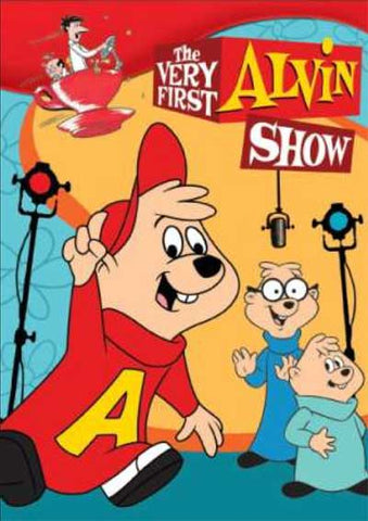 THE ALVIN SHOW COMPLETE 26 EPISODES 2 DVD SET VERY RARE CARTOON 1961-62