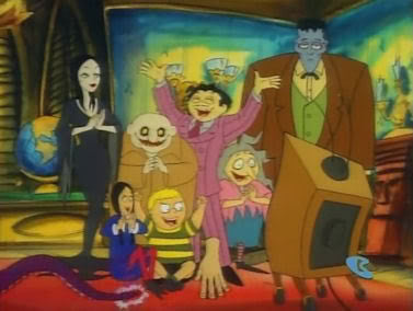 THE ADDAMS FAMILY CARTOON 1992 COMPLETE 3 DVD SET