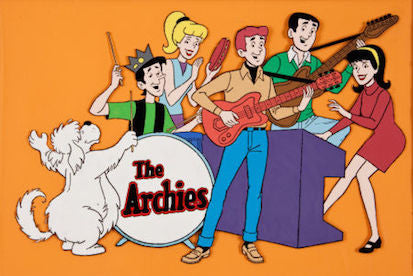 The Archie Show and Archie's Fun House Complete Series on a 5 DVD Set 1968-69