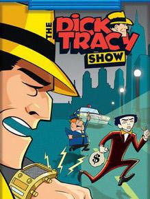 The Dick Tracy Show Complete Animated 4 DVD Set 1961-62