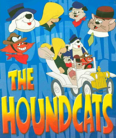 THE HOUNDCATS COMPLETE 13 EPISODES DVD VERY RARE CARTOON 1972