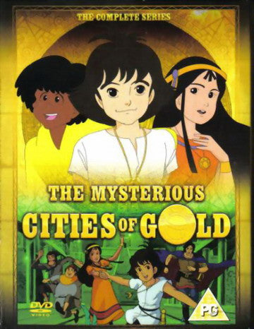 The Mysterious Cities of Gold (1982) COMPLETE VERY RARE KIDS SHOW 4 DVD Set