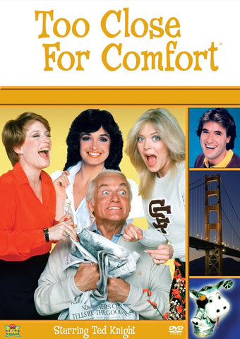 TV TOO CLOSE FOR COMFORT - COMPLETE 6 SEASONS 18 DVD SET 1980-87