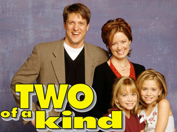 TV Two of a Kind complete series 22 Episodes 4 DVD Set 1998-99 VERY RARE