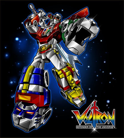 KIDS VOLTRON DEFENDER OF THE UNIVERSE 72 EPISODES + MOVIE (1984-85) 8 DVD Set