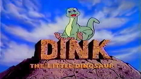 DINK THE LITTLE DINOSAUR COMPLETE 42 EPISODES DVD SET VERY RARE SHOW 1989-90