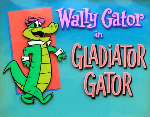 KIDS WALLY GATOR COMPLETE 52 EPISODES 2 DVD SET 1962