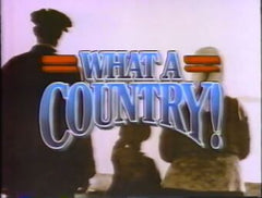 TV WHAT A COUNTRY DVD SET 1986-87 SITCOM EXTREMELY RARE SHOW