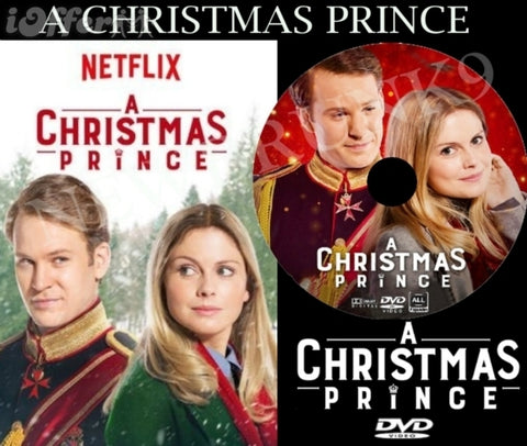XMAS A CHRISTMAS PRINCE MOVIE 2017 HALLMARK DVD