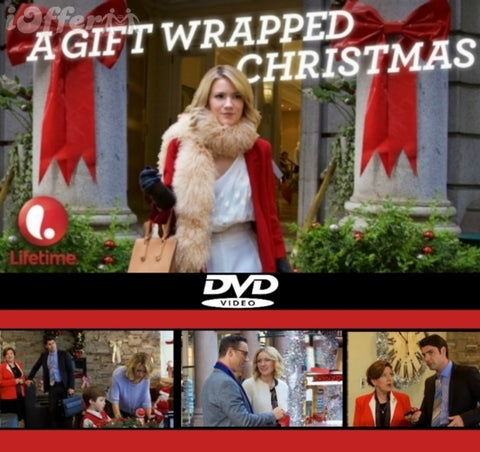 XMAS A GIFT WRAPPED CHRISTMAS 2015 TV MOVIE DVD