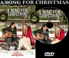 XMAS A SONG FOR CHRISTMAS MOVIE 2017 ON DVD - HALLMARK MOVIES