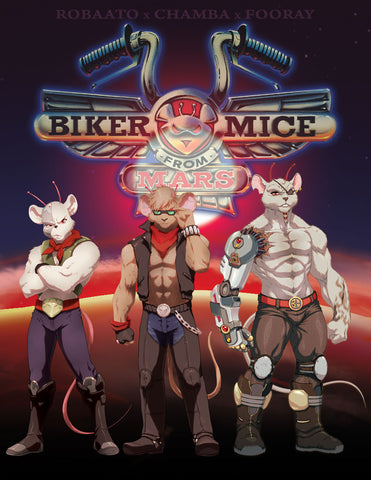 BIKER MICE FROM MARS COMPLETE 65 EPISODES SEASON 1-3 CARTOON 8 DVD SET 1993-96 EXTREMELY RARE