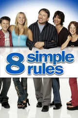 TV 8 SIMPLE RULES COMPLETE 3 SEASONS DVD SET HARD TO FIND JOHN RITTER 2002-05