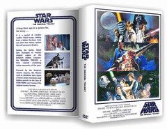 TV Star Wars Trilogy (The Original Unaltered Trilogy) IV V VI Complete DVD w/case TV