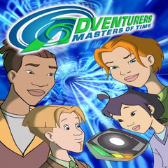 ADVENTURERS: MASTERS OF TIME 24 EPISODES 3 DVD SET 2005 RARE CARTOON