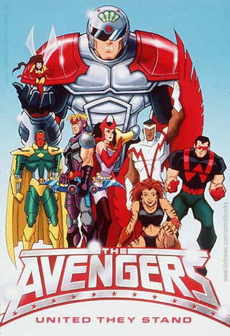 THE AVENGERS UNITED THEY STAND COMPLETE 13 EPISODES DVD SET 1999-2000