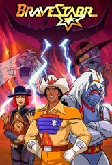 BRAVESTARR COMPLETE 65 EPISODES DVD SET 1987-88 RARE CARTOON