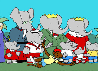 BABAR COMPLETE CARTOON 6 SEASONS 14 DVD SET 1989