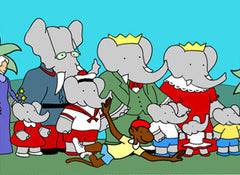 BABAR COMPLETE CARTOON 6 SEASONS 15 DVD SET 1989