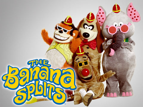 TV THE BANANA SPLITS & FRIENDS SHOW 1968-1970 35 EPISODE 4 DVD SET