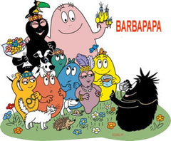 BARBAPAPA CARTOONS DVD set 5 DVD 1970s set English