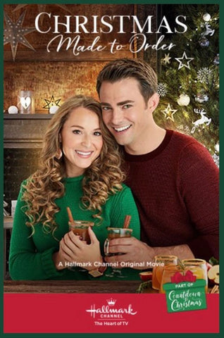 XMAS MADE TO ORDER CHRISTMAS MOVIE HALLMARK 2018 DVD