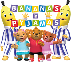 Bananas In Pajamas - COMPLETE SERIES 46 Episodes 2 DVD Set Very Rare Show 1992-2001