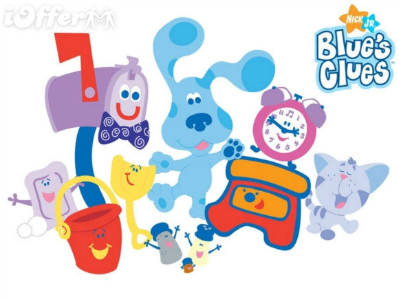 BLUE'S CLUES SEASON 1-6 COMPLETE + 4 MOVIES KIDS DVD SET ...