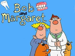 BOB & MARGARET COMPLETE 4 SEASON DVD SET VERY RARE BRITISH CARTOON 1998-2001