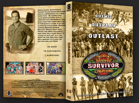 TV SURVIVOR SEASON 28 CAGAYAN 6 DVD SET