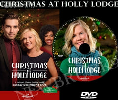 XMAS CHRISTMAS AT HOLLY LODGE MOVIE 2017 ON DVD - HALLMARK MOVIES