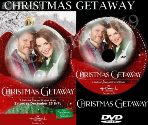XMAS CHRISTMAS GETAWAY MOVIE 2017 ON DVD - HALLMARK MOVIES