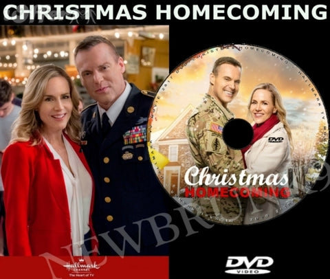 XMAS CHRISTMAS HOMECOMING MOVIE 2017 ON DVD - HALLMARK MOVIES