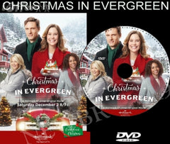 XMAS CHRISTMAS IN EVERGREEN MOVIE 2017 ON DVD - HALLMARK MOVIES