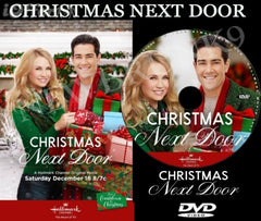 XMAS CHRISTMAS NEXT DOOR MOVIE 2017 ON DVD - HALLMARK MOVIES