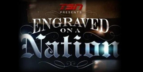 TV ENGRAVED ON A NATION COMPLETE DVD SET RARE 8 PART SERIES CFL TSN