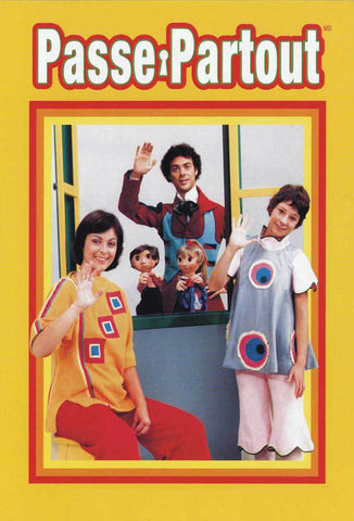 PASSE PARTOUT COMPLETE  VOLUME 1 & 2 SET KIDS FRENCH LEARNING SHOW DVD 1977