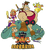 DAVE THE BARBARIAN KIDS CARTOON COMPLETE 21 EPISODES 3 DVD SET 2004-05