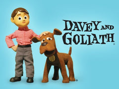 DAVEY & GOLIATH COMPLETE 65 EPISODES + 4 SPECIALS 12 DVD SET 1961-75 CLAY ANIMATION