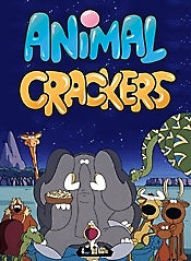 ANIMAL CRACKERS 58 SEGMENTS 4 DVD SET 1997-99 VERY RARE CANADIAN CARTOON